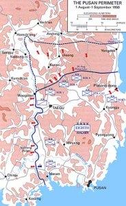 The battle of the Pusan perimeter