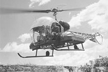 Bell H13 Sioux helicopter