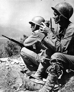 Marines near the Naktong River