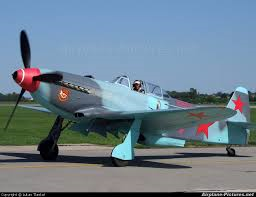 Yak 9 fighter